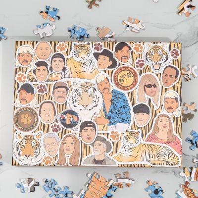 Puzzle da 500 Pezzi Tiger King