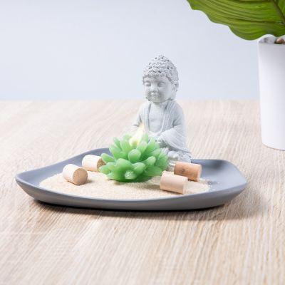 Buddha su un Piatto