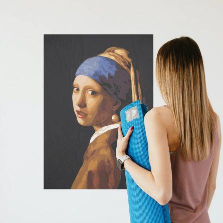 Pittura di Capolavori dell'Arte con i Numeri