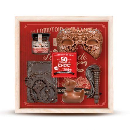 Cofanetto 50 Sfumature di Cioccolato