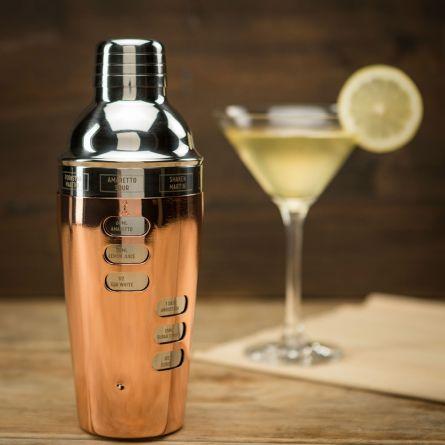 Cocktail Shaker Design con Ricette