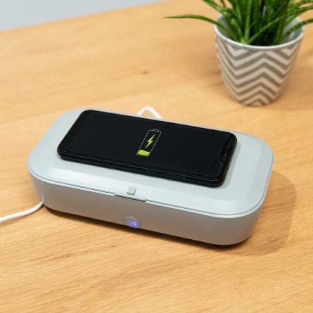 Disinfettante UV con Ricarica Wireless
