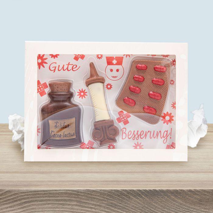 Set Cioccolato per Pronta Guarigione