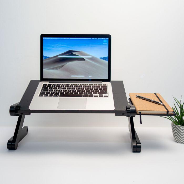Supporto Nero Universale per Laptop