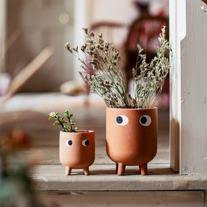 Vaso da Fiori in Terracotta Leggy