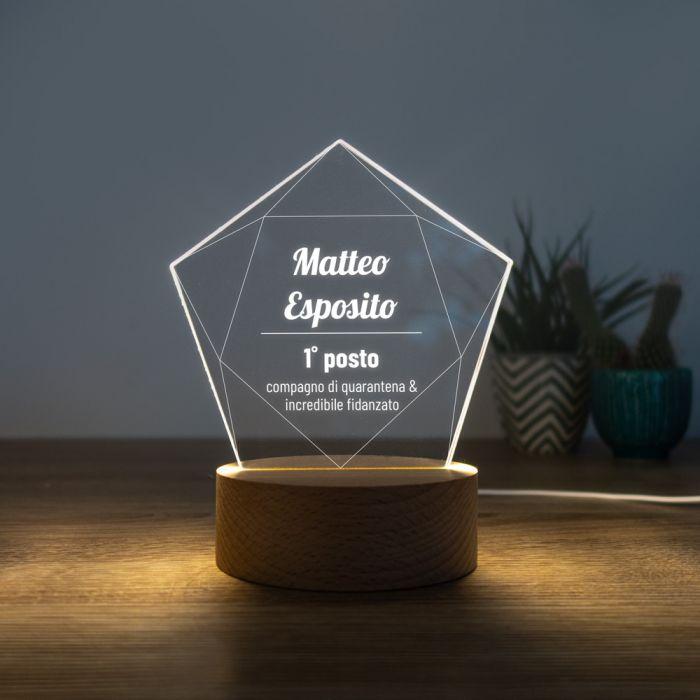 Lampada LED con Stella