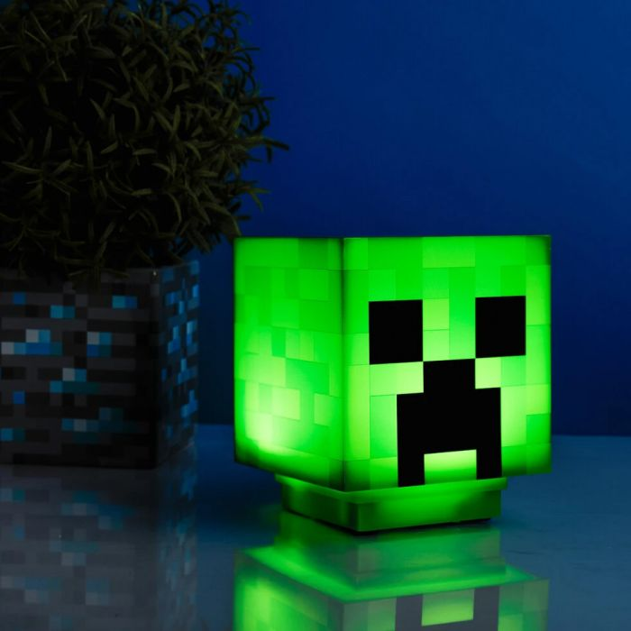 Lampada Creeper Minecraft