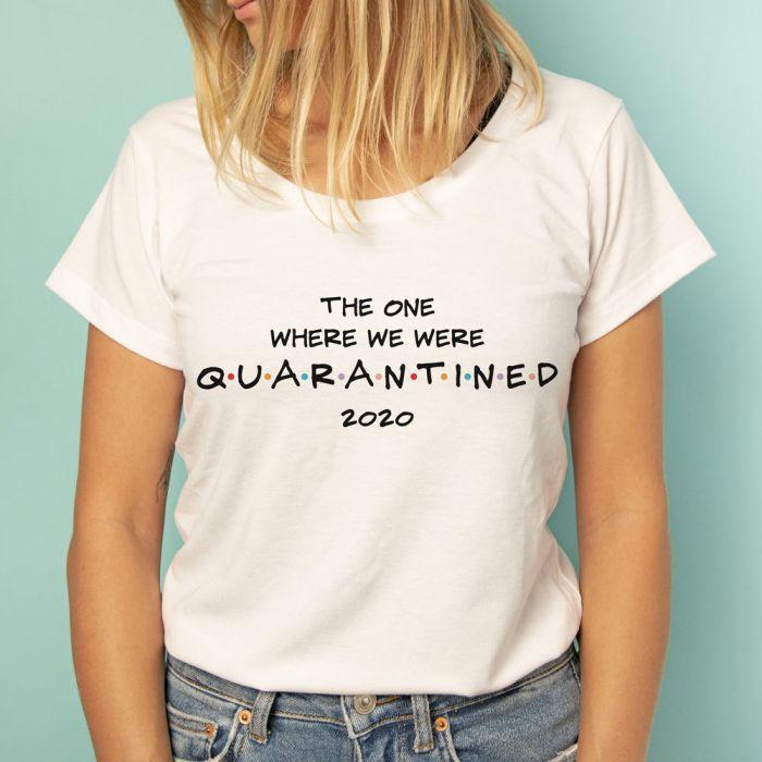 Maglietta Quarantined