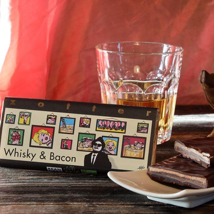 Cioccolato Zotter Whisky & Bacon