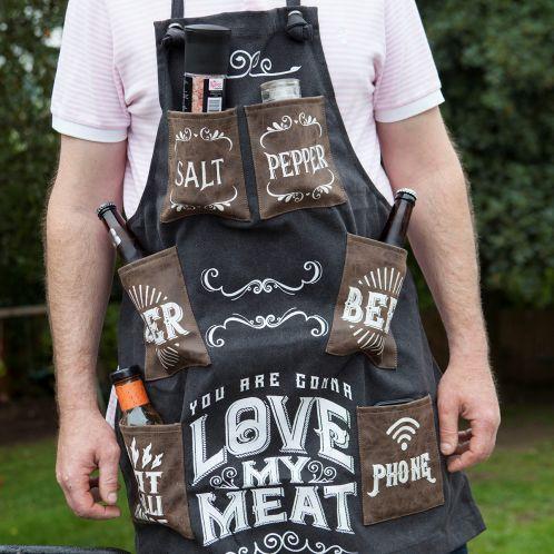 Grembiule da Barbecue You Are Gonna Love My Meat