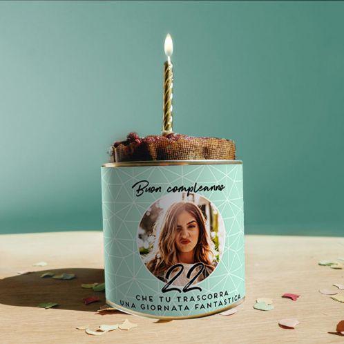 Torta in Lattina per il Compleanno