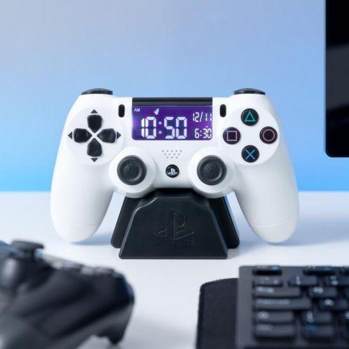 Sveglia Controller PlayStation Bianco