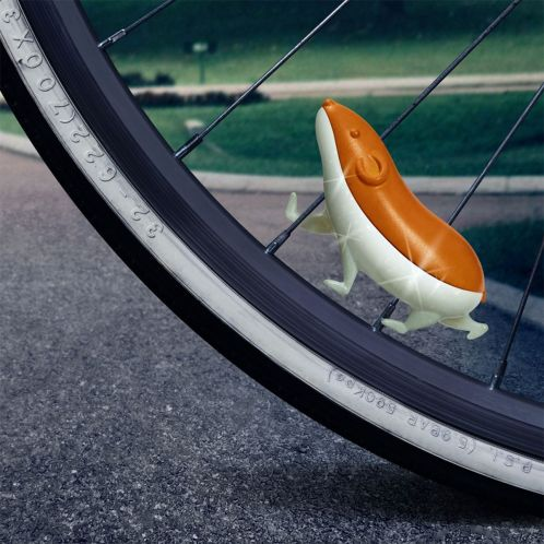 Criceto Speedy per bicicletta
