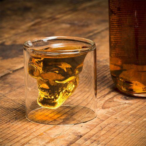 Bicchiere Shot Teschio