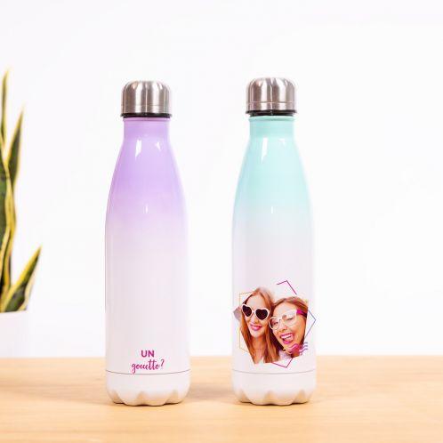 Bottiglia Termica con Foto e Testo