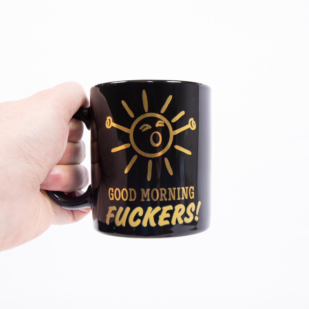 Tazza Termosensibile Good Morning F***ers