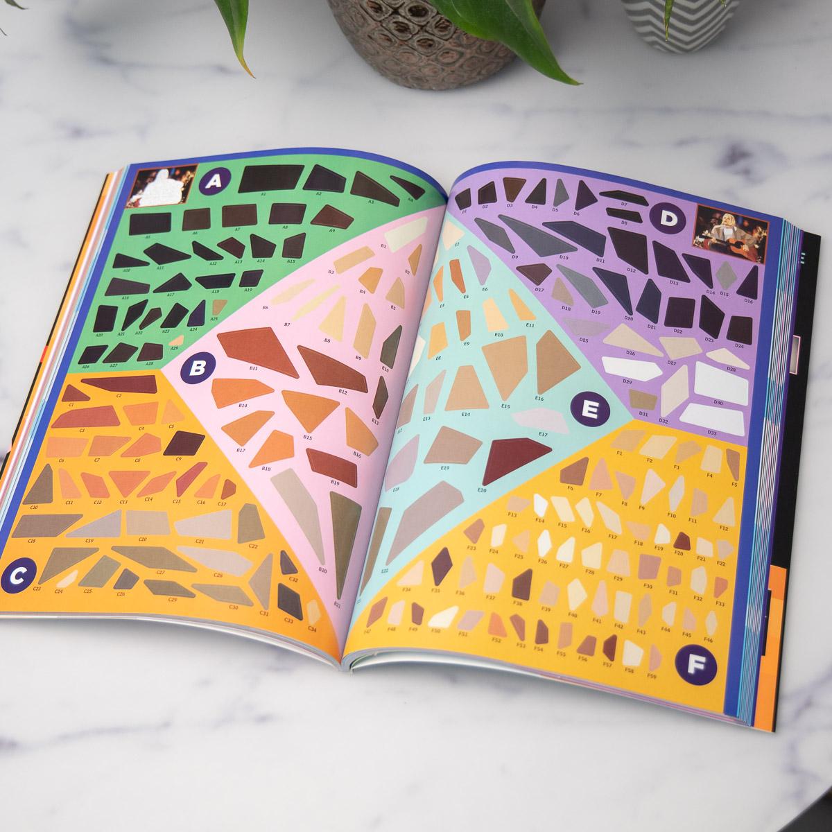 Paint By Sticker - Libri da Colorare con Adesivi