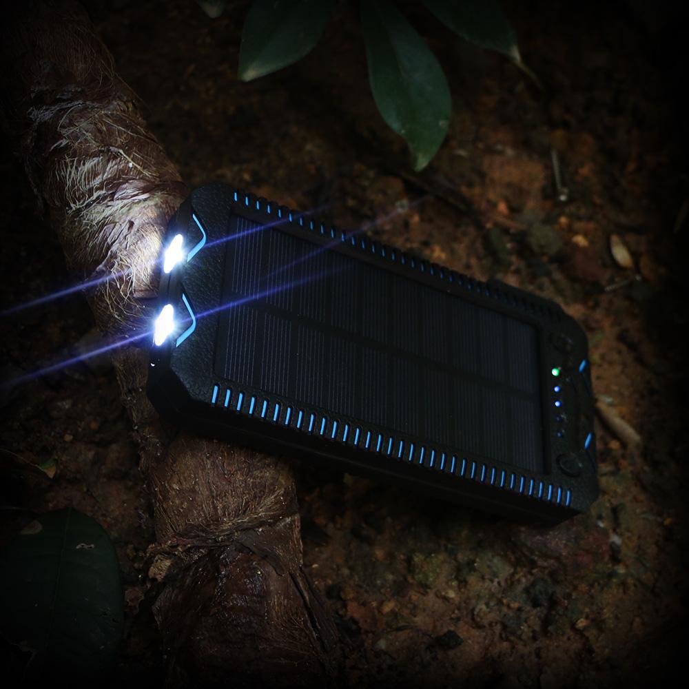 Caricabatterie di Emergenza a Energia Solare
