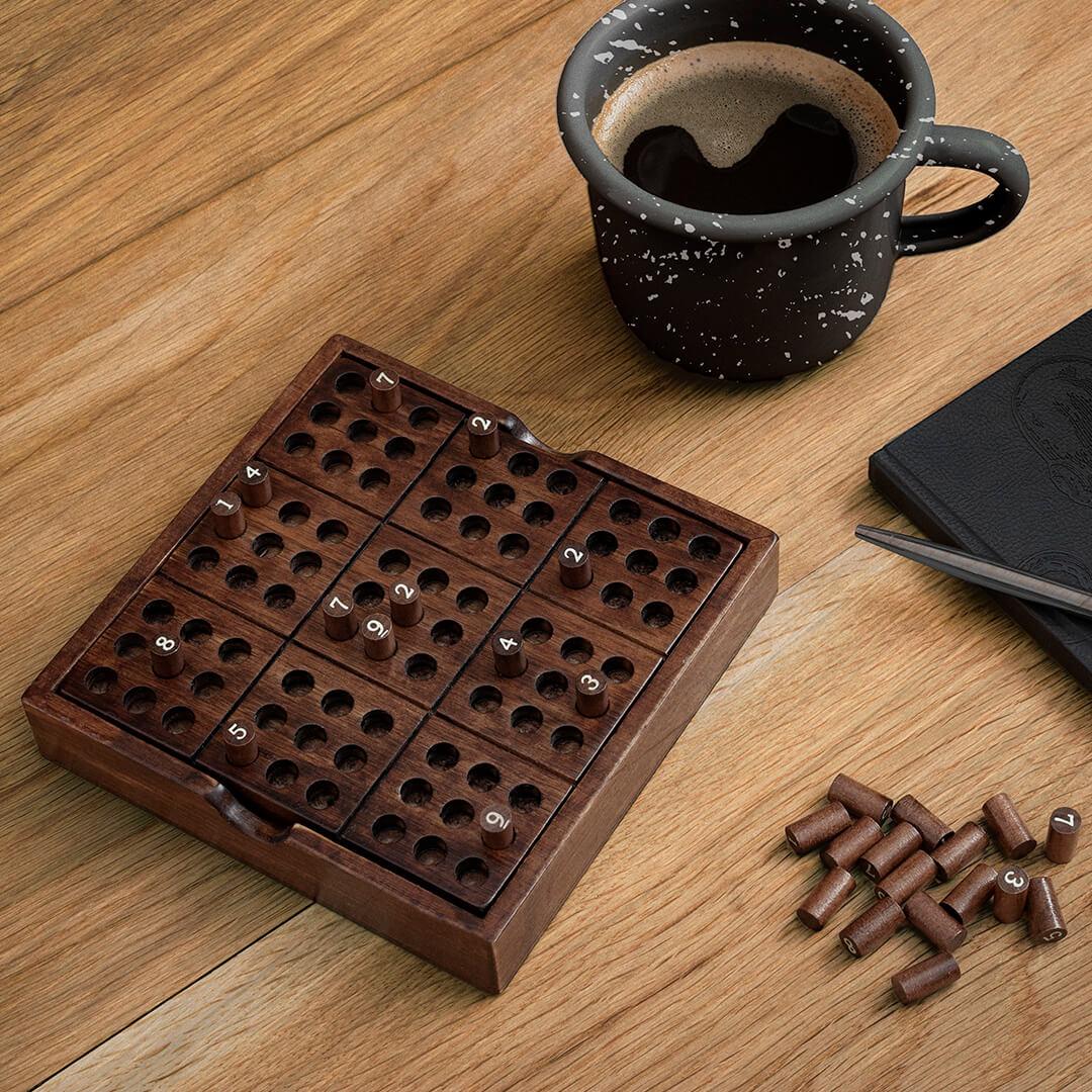 Rompicapo Sudoku in Legno