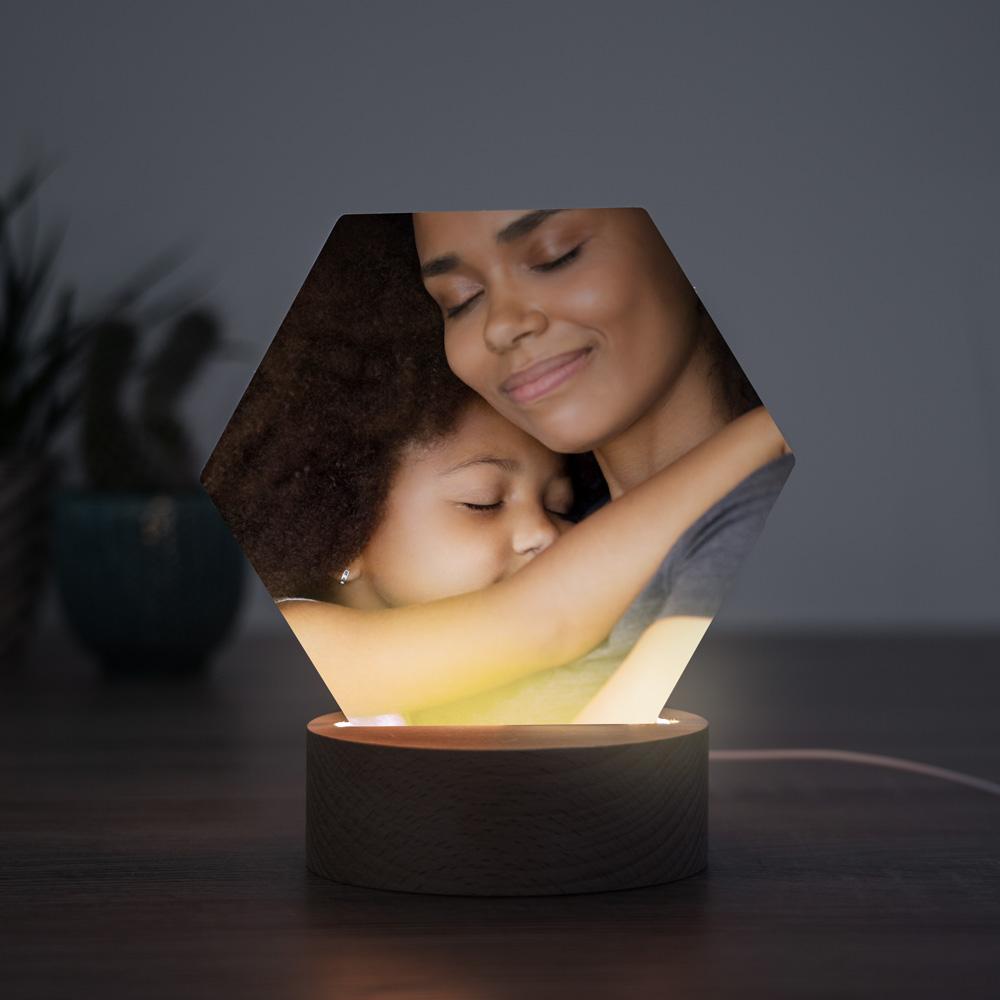 regali per la mamma lampada LED con foto