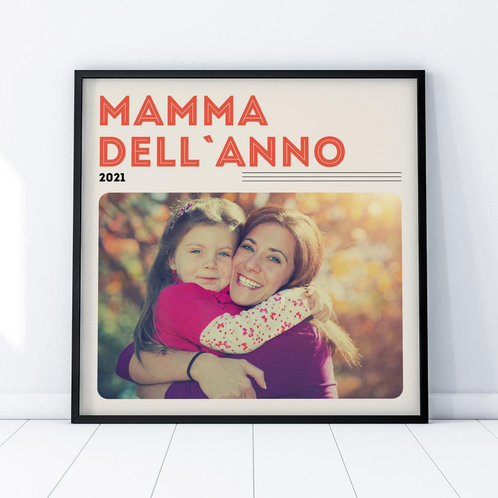 regali per la mamma poster in stile copertina di vinile