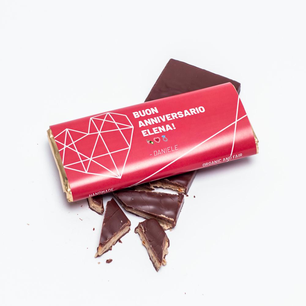 regali per lei cioccolato personalizzabile con testo