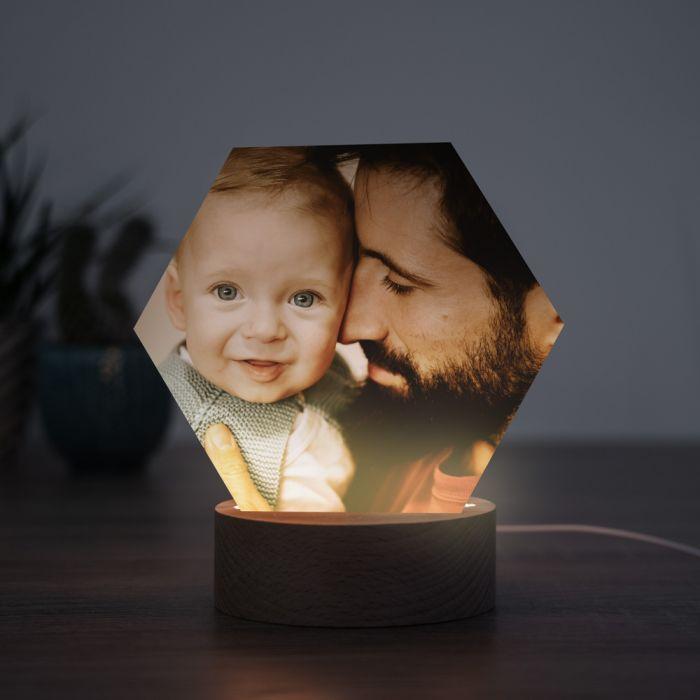 Regali per il Papà Lampada LED con Foto