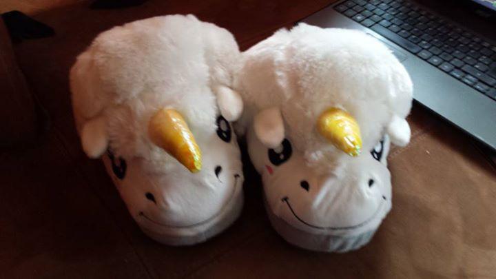 Pantofole Unicorno Magico