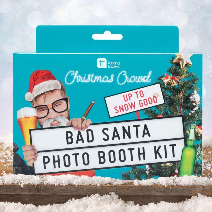 Kit Bad Santa per Foto di Natale