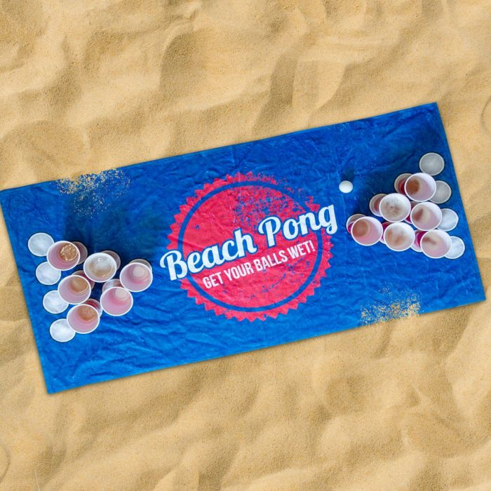 Asciugamano Beach Pong