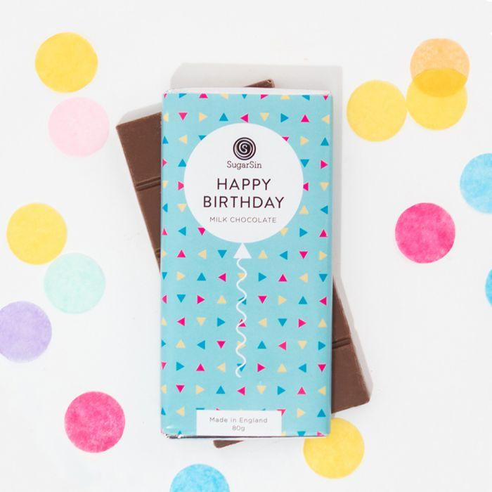 Cioccolata Happy Birthday
