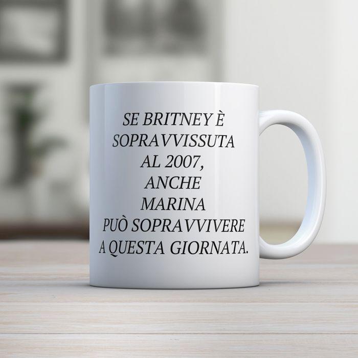 Tazza Britney Personalizzabile con Nome
