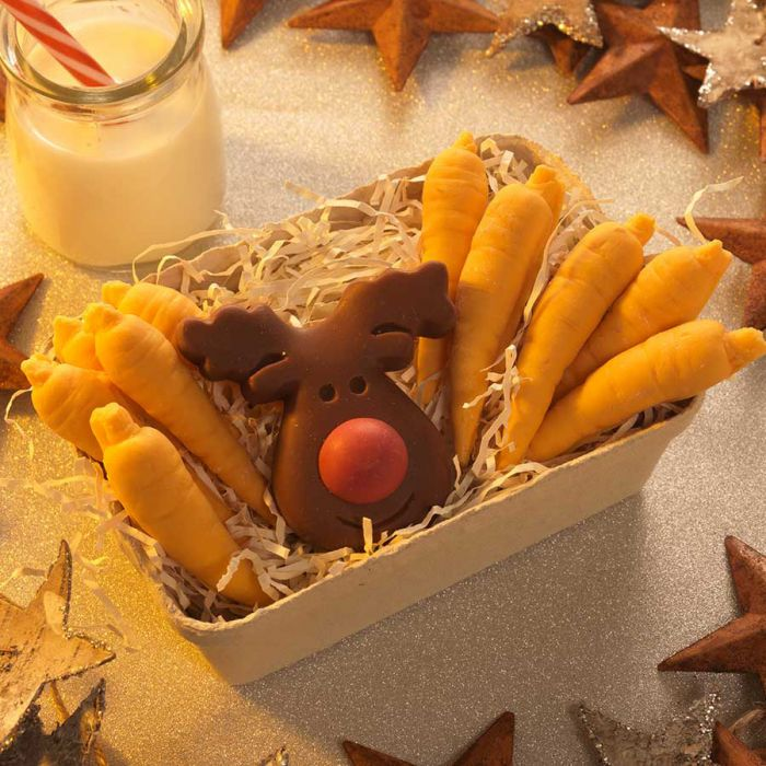 Cioccolatini Carote e Renna