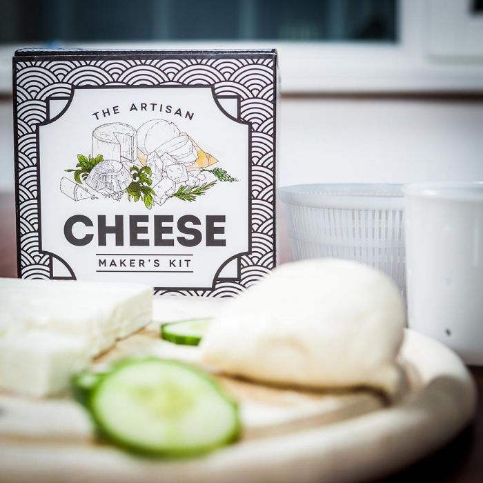 Kit Formaggio Fai Da Te - The Artisan Cheese Maker