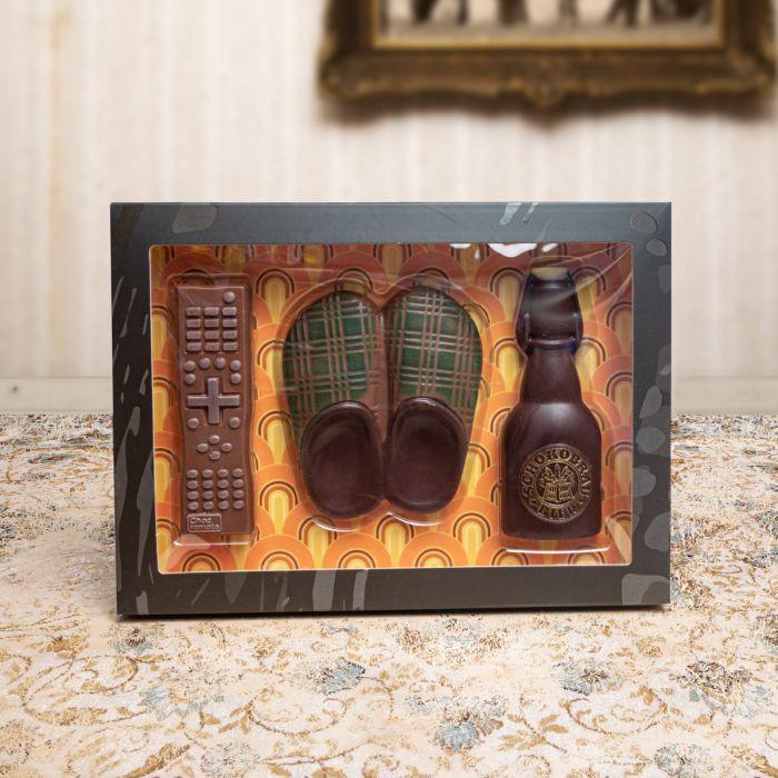 Set di Cioccolato per Pantofolai