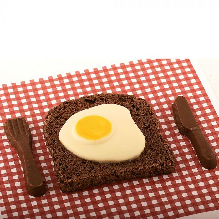Pancetta e uova di cioccolata
