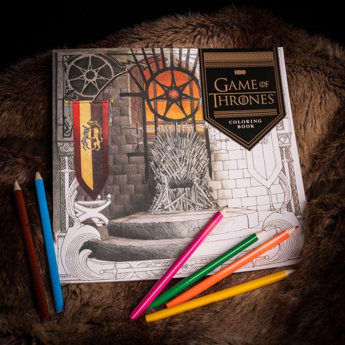 Libro da colorare Games Of Thrones