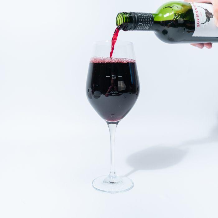 Bicchiere da Vino per mostrare il proprio umore