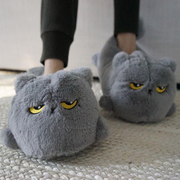 Pantofole Gatto Riscaldabili