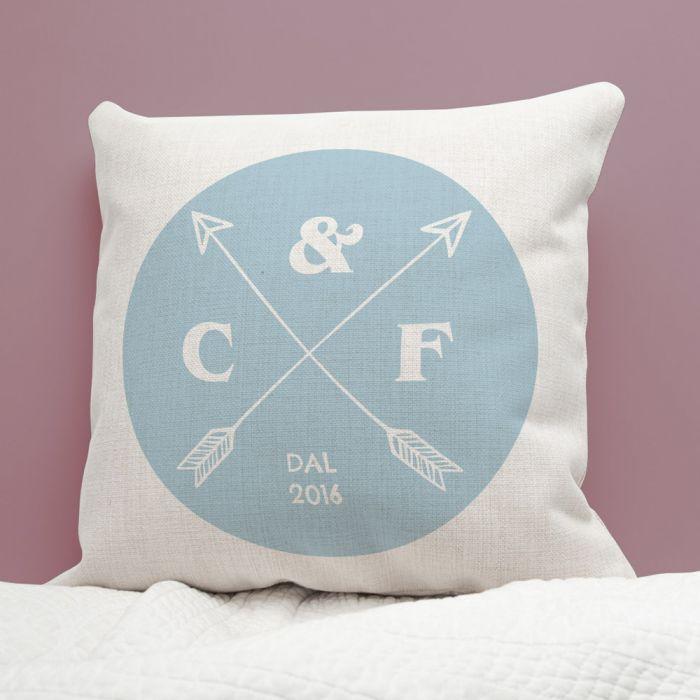 Federa per Cuscino Personalizzabile per le Nozze