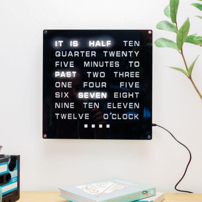 Orologio di Parole Maxi Led