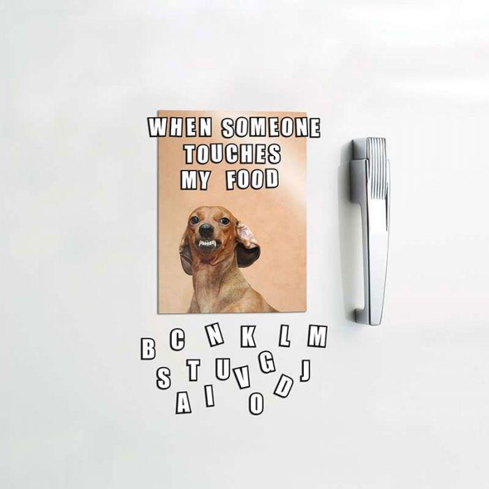 Lettere Magnetiche  per Memo