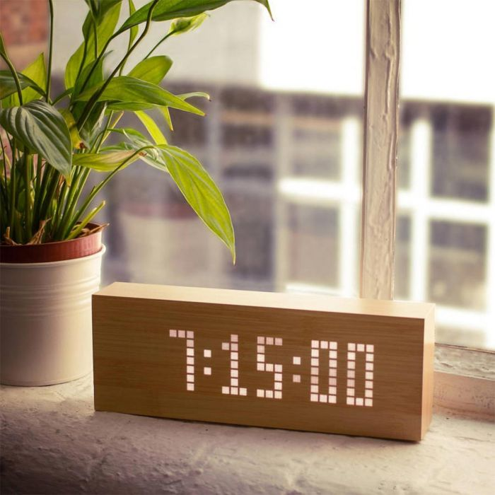 Orologio Sveglia Click Message Clocks - Originale