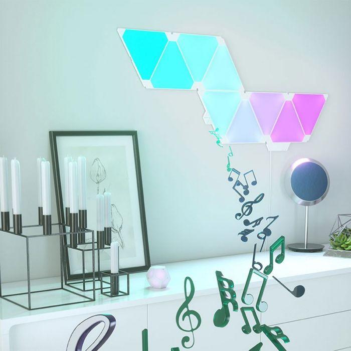 Pannelli Luminosi Interattivi Nanoleaf