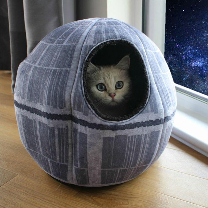 Star Wars Morte Nera Cuccia Per Gatti