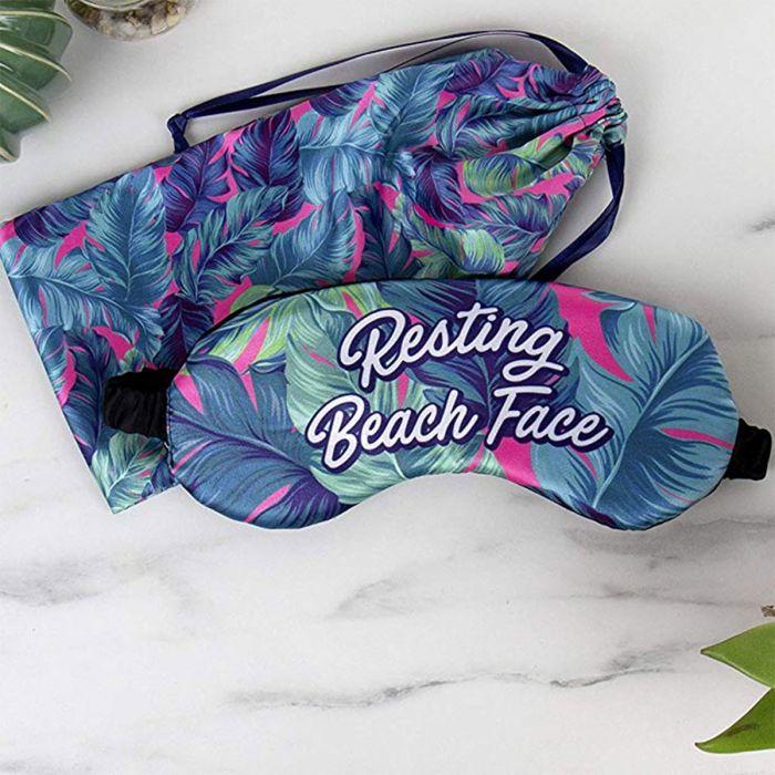 Maschera da Notte Per La Spiaggia con Pochette