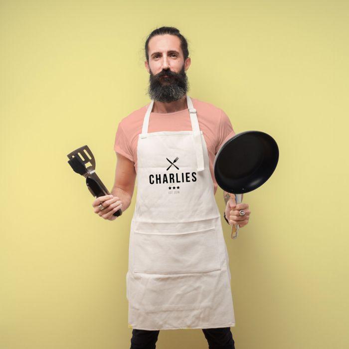 Grembiule da Cucina Personalizzabile Master Chef