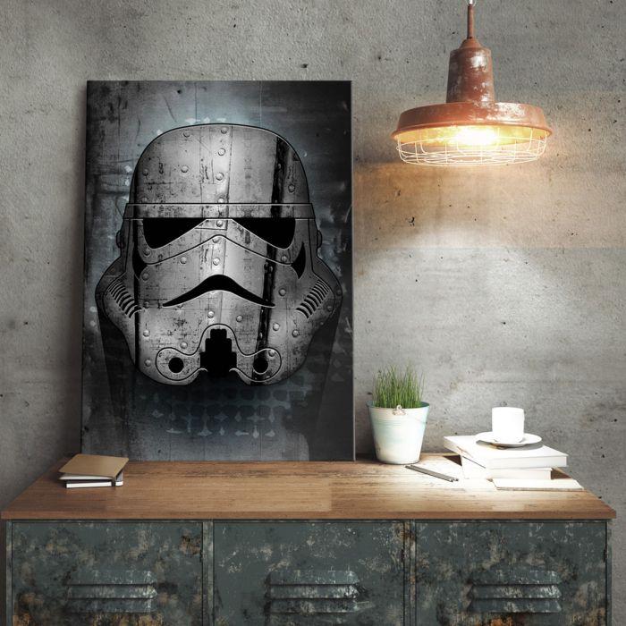 Poster di metallo Star Wars - Stormtrooper