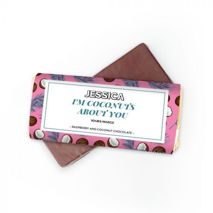 Cioccolato con Testo su 4 Righe