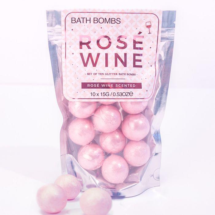 Bombe da Bagno al Vino Rosato